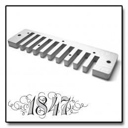 Korpus do harmonijki Seydel Session Steel - żółty nieprzezroczysty